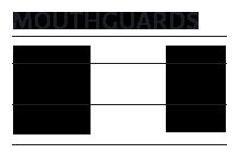 mouthguard chart